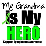 My Grandma is My Hero Lymphoma T-Shirt