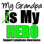 My Grandpa is My Hero Lymphoma T-Shirt