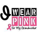 I Wear Pink For My Grandmother T-Shirts & Gift