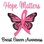 Hope Matters Breast Cancer T-Shirts