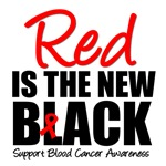 Red is The New Black Blood Cancer T-Shirts & Gifts
