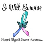 Thyroid Cancer I Will Survive T-Shirts & Gifts