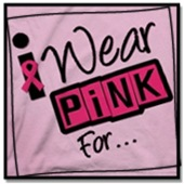 I Wear Pink Ribbon Awareness