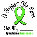 I Support The Cure Lymphoma Shirts & Gifts