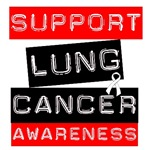 Label Style Lung Cancer Awareness T-Shirts & Gifts