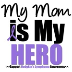 Hodgkin's Lymphoma Hero (Mom) Shirts