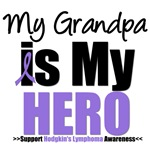Hodgkin's Lymphoma Hero (Grandpa) Shirts