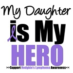 Hodgkin's Lymphoma Hero (Daughter) Shirts