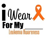 I Wear Orange Ribbon Leukemia Awareness Shirts