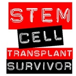 Stem Cell Transplant Survivor Label Red Shirts