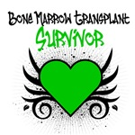 Bone Marrow Transplant Tattoo Survivor Shirts