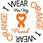 I Wear Orange Friend Leukemia Shirts
