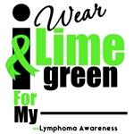 Lymphoma I Wear Lime Green Ribbon Swag
