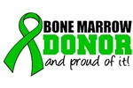 Bone Marrow Donor Proud of It Shirts & Gifts