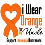 Leukemia I Wear Orange For My Uncle Shirts