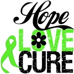 Non Hodgkin's Lymphoma HOPE LOVE CURE Tee Shirts