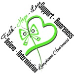 Lymphoma Faith Love Hope Shirts, T-Shirts & Gifts