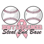 Don't Let Breast Cancer Steal 2nd Base Shirts Shir