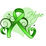 Lymphoma Hope Heart Ribbon Shirts