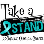 Take a Stand Ovarian Cancer Shirts and Gear