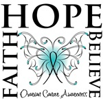Ovarian Cancer Butterfly
