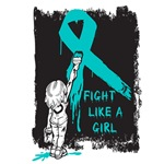 Graffiti Girl Ovarian Cancer