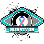 Thyroid Cancer Survivor Ribbon Shirts