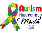 Autism Awareness Month Shirts and Gifts