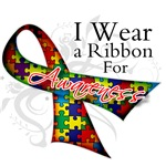 I Wear Autism Ribbon Support Shirts and Gifts