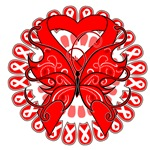 Butterfly Heart Disease Shirts and Gifts