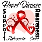 Heart Disease Awareness Shirts and Gifts