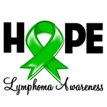 Hope Ribbon Lymphoma Shirts and Gifts