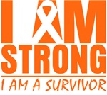 I am Strong Multiple Sclerosis Shirts