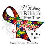 Autism Hero in My Life Shirts