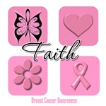 Faith Breast Cancer Shirts and Gifts