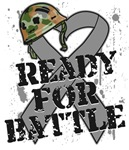 Ready For Battle Brain Cancer Shirts