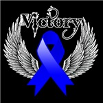 Victory Wings Colon Cancer Shirts