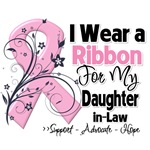 Daughter-in-Law Pink Ribbon Breast Cancer Shirts
