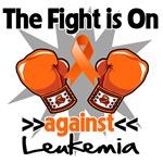 The Fight is On Leukemia Shirts