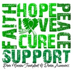 Hope Cure Faith Bone Marrow Transplant Shirts