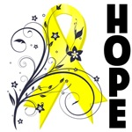 Hope Ribbon Ewing Sarcoma Shirts and Gifts