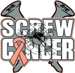 Screw Uterine Cancer Shirts and Gifts