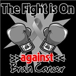 The Fight is On Against Brain Cancer Shirts