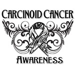 Carcinoid Cancer Awareness Scroll Shirts