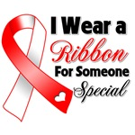Ribbon Someone Special Oral Cancer Shirts