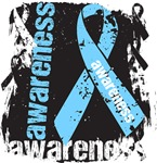 Prostate Cancer Awareness Grunge Ribbon Shirts