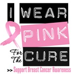 Stylish I Wear Pink Breast Cancer Shirts