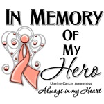 In Memory of My Hero Uterine Cancer Shirts