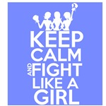 Stomach Cancer Keep Calm and Fight Like a Girl
