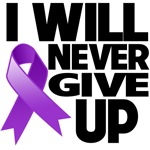 I Will Never Give Up GIST Cancer Shirts